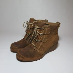 Sorel Toronto Waterproof Lace-up Wedge Boot
